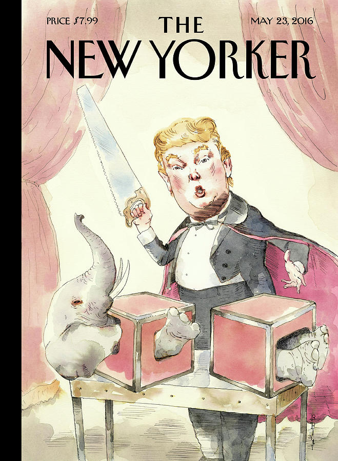 Grand Illusion Painting by Barry Blitt