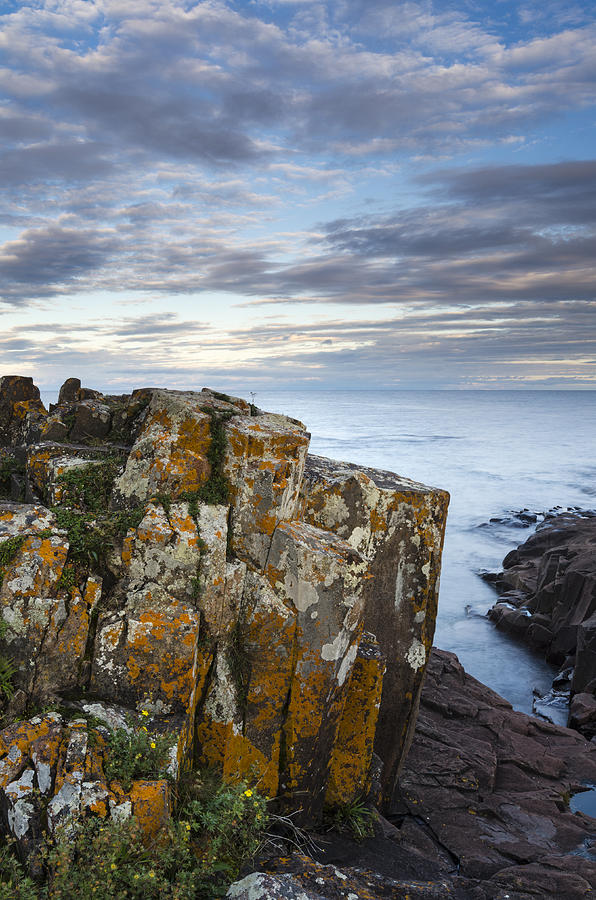 Cook County Photograph - Grand Marais Cliffs by Thomas Pettengill
