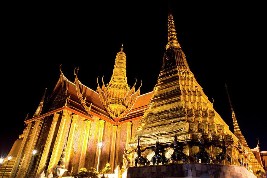 Grand Palace, Bangkok, Thailand Photograph by Holgs