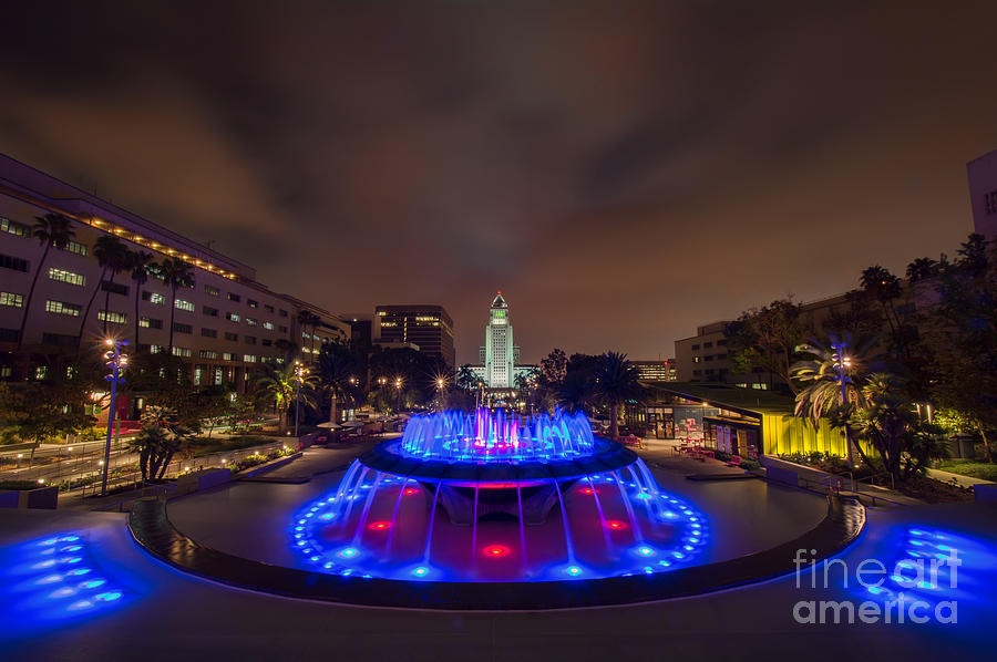Grand Photograph - Grand Park by Eddie Yerkish