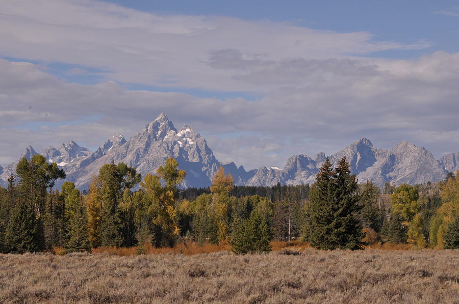 Mountains Photograph - Grand Teton by Frank Madia