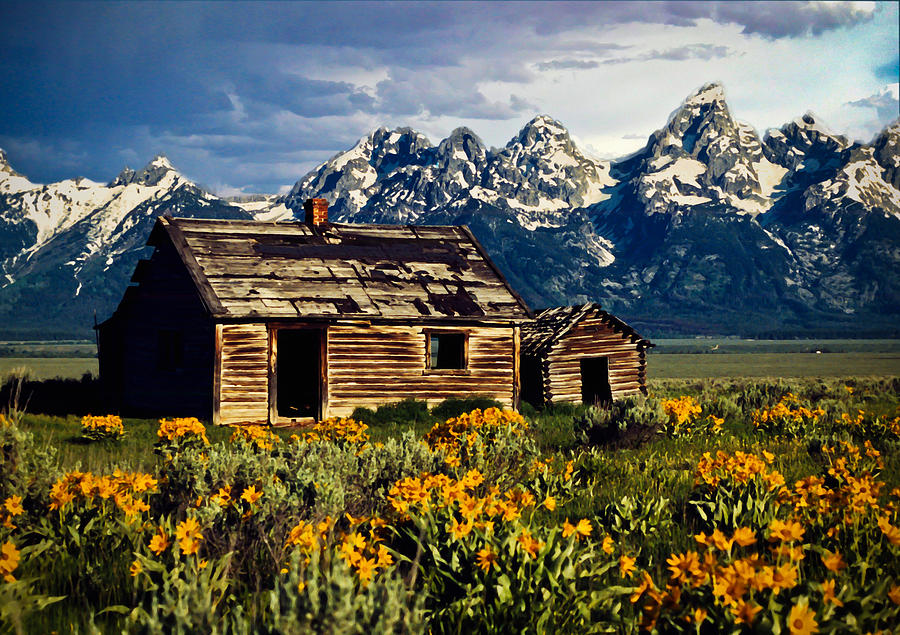 b cabin photos teton site national grand historic l k flickr park cunningham kenlane cabins by