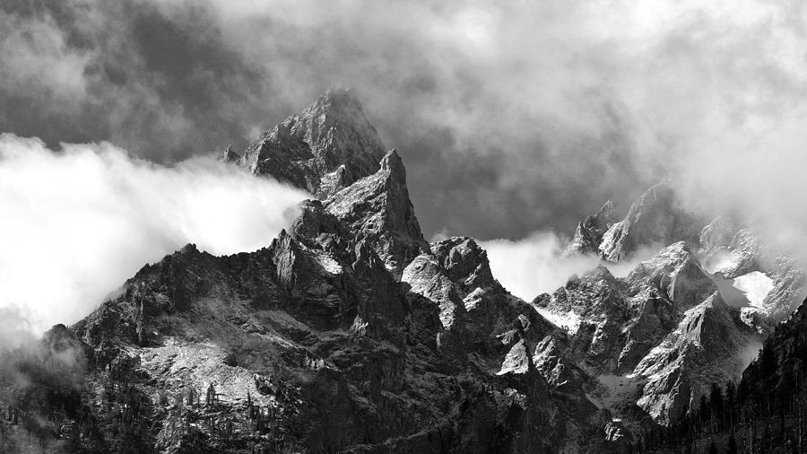 Usa Photograph - Grand Tetons by Charles Kosina