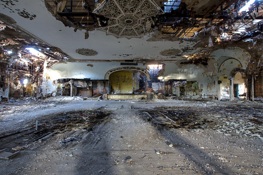 Grande Ballroom Detroit Mi 1 Photograph By Paul Cannon