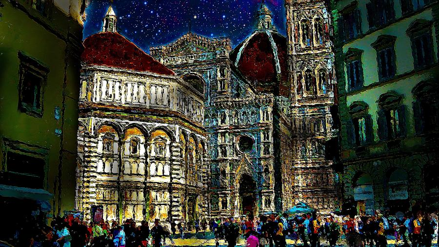 Grandeur Digital Art - Grandeur by Cary Shapiro