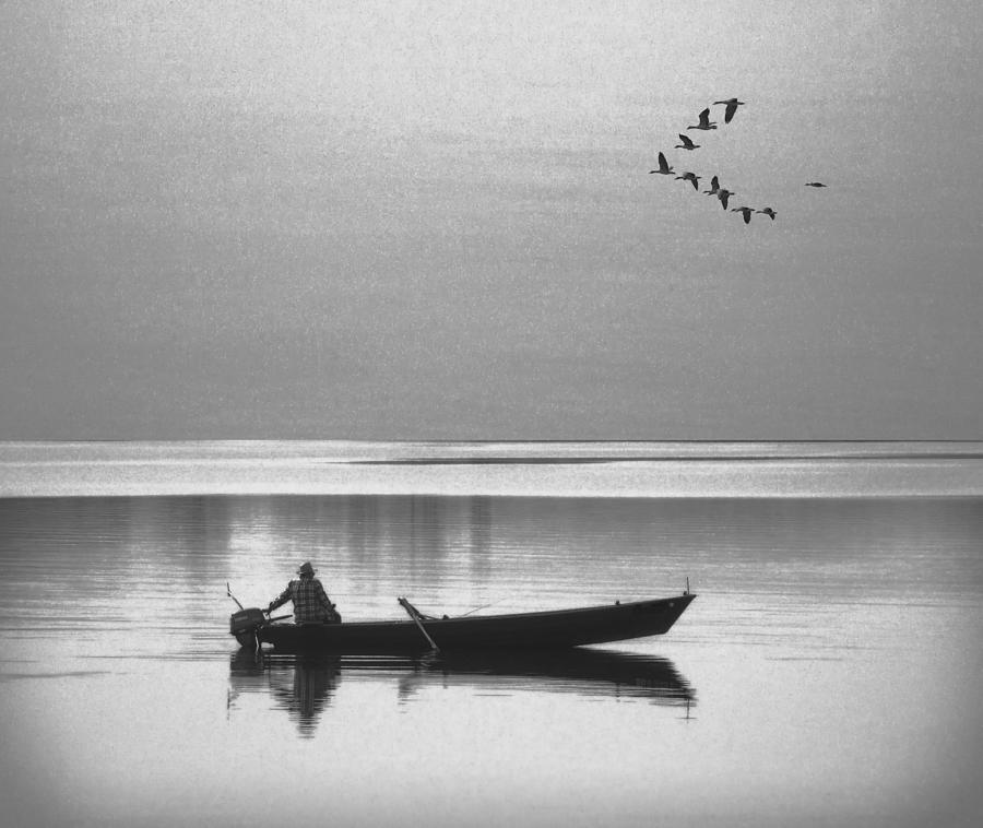 Grandfather Photograph - Grandfather Was A Fisherman by Daniel Hagerman