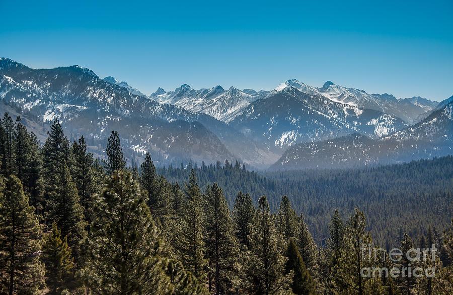 Grandjean Peak Photograph - Grandjean Valley by Robert Bales