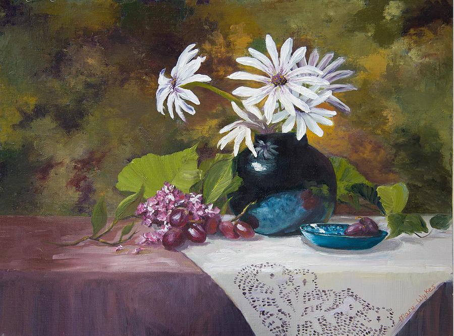 Grandma's Daisies by Mary Beglau Wykes
