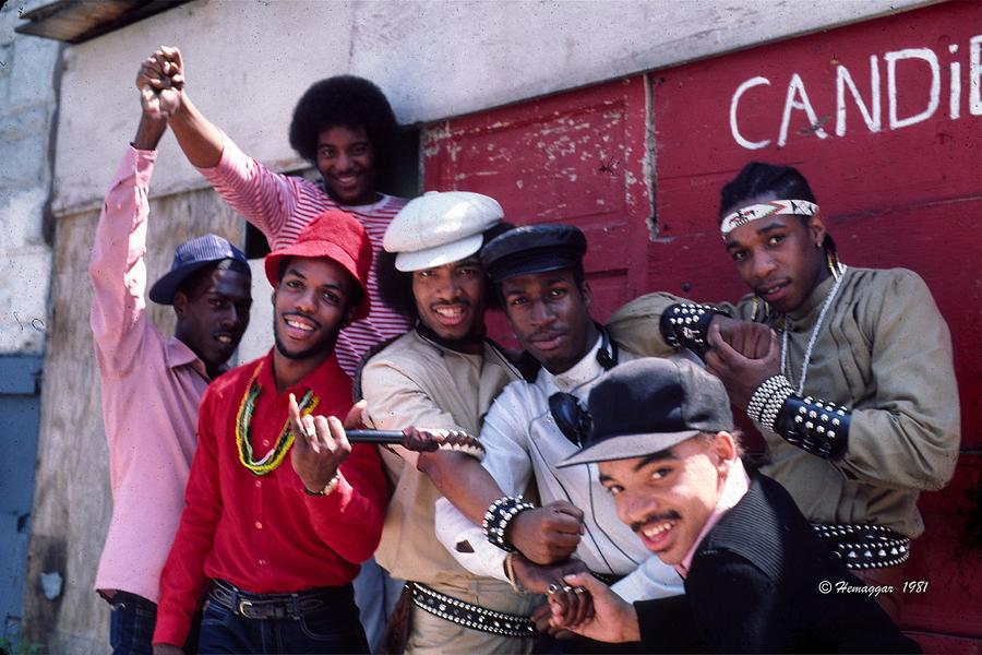 The Message Photograph - Grandmaster Flash And Furious Five In Nyc by Hemu Aggarwal