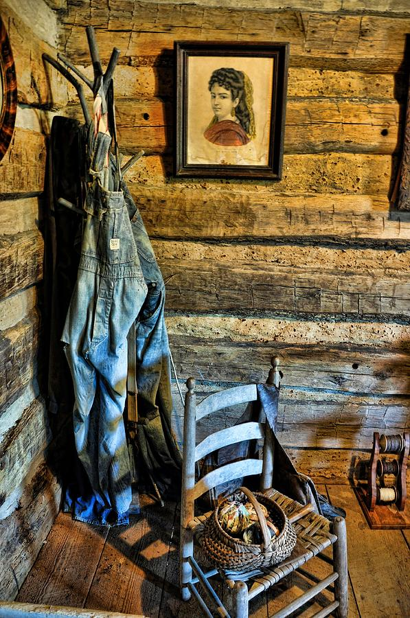 Still Life Photograph - Grandpas Closet by Jan Amiss Photography