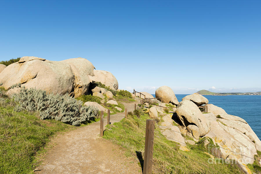 Granite Island Rocks Photograph