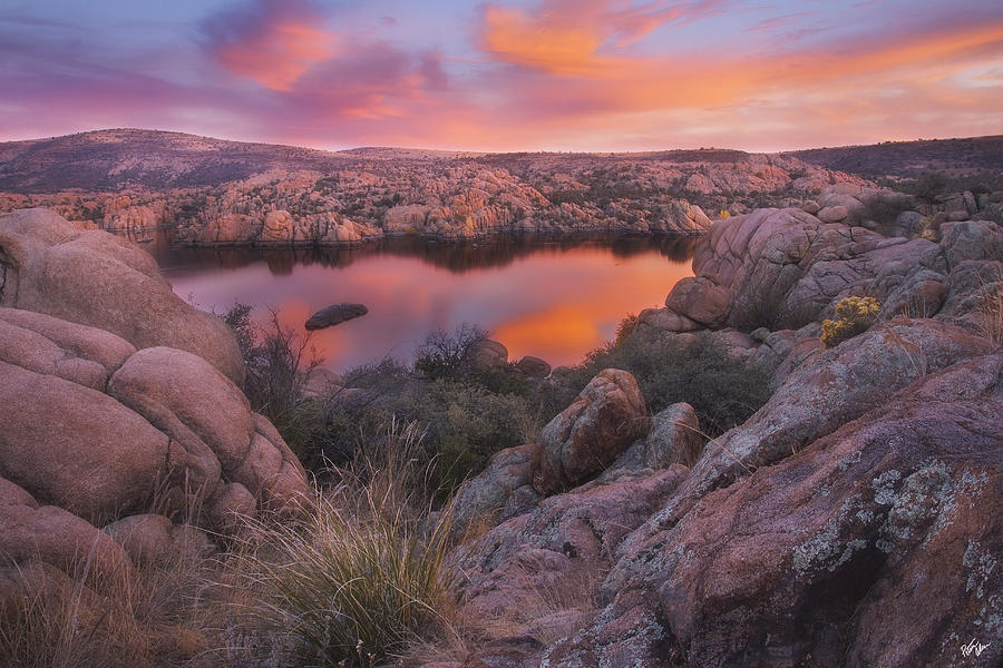 Watson Lake Photograph - Granite Sorbet by Peter Coskun