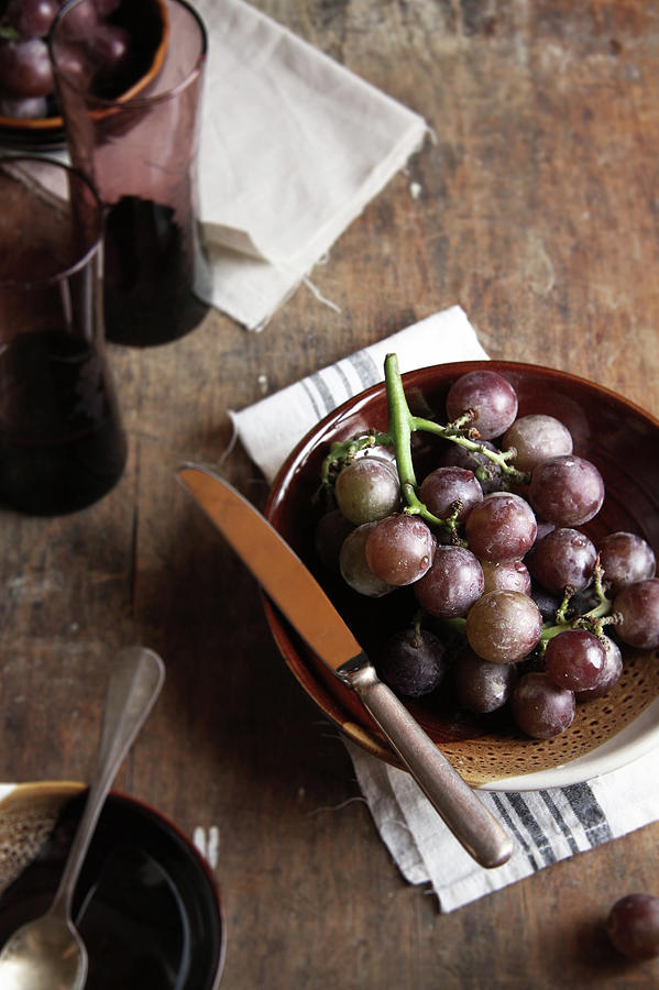 Grape Photograph by 200