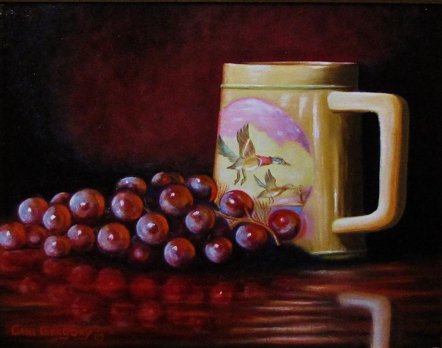 Still Life Painting - Grape Expectations by Gene Gregory