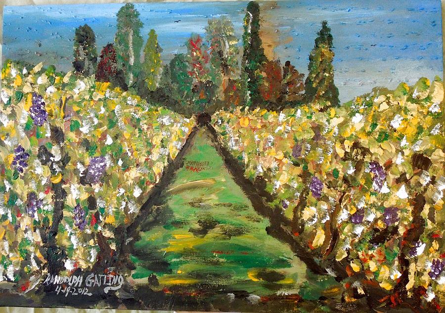 Grapes of Tuscany by Randolph Gatling