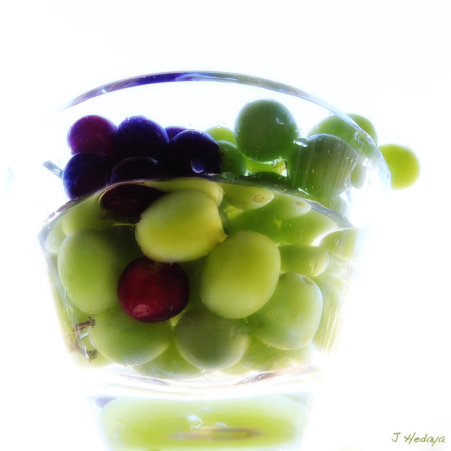 Still Life Photograph - Grapes Of Wrath by Joseph Hedaya