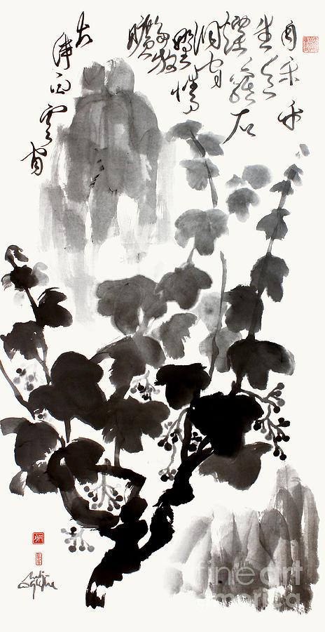 Grapevine Painting - Grapevine of Life by Nadja Van Ghelue