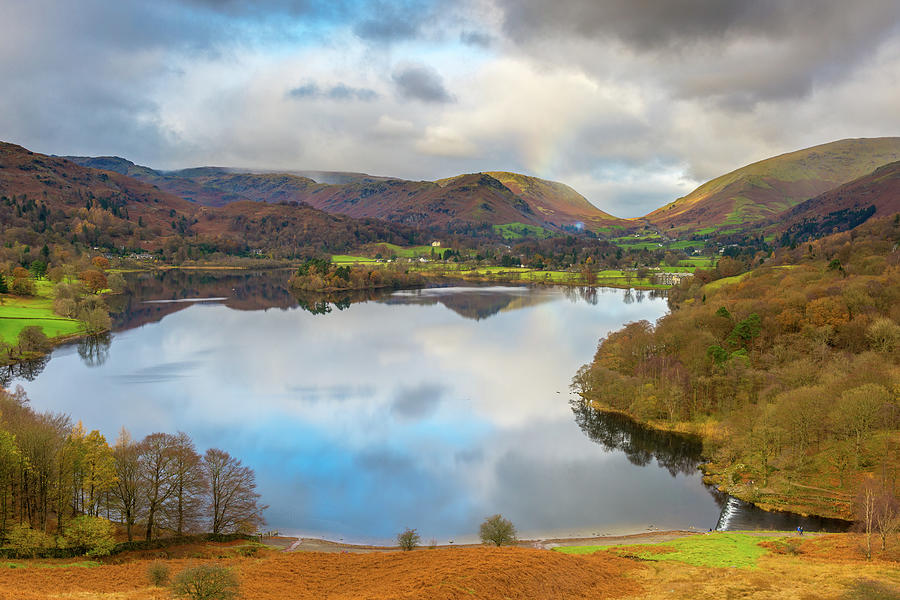 Tranquility Photograph - Grasmere, Lake District National Park by Chris Hepburn