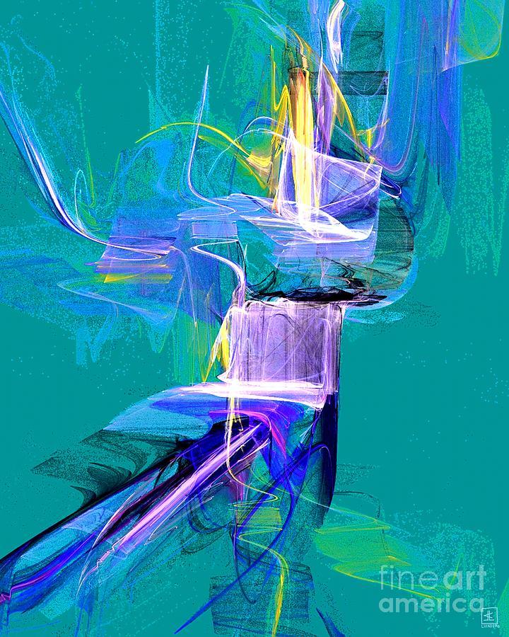 Grass Dancer Painting - Grass Dancer by Jeanne Liander