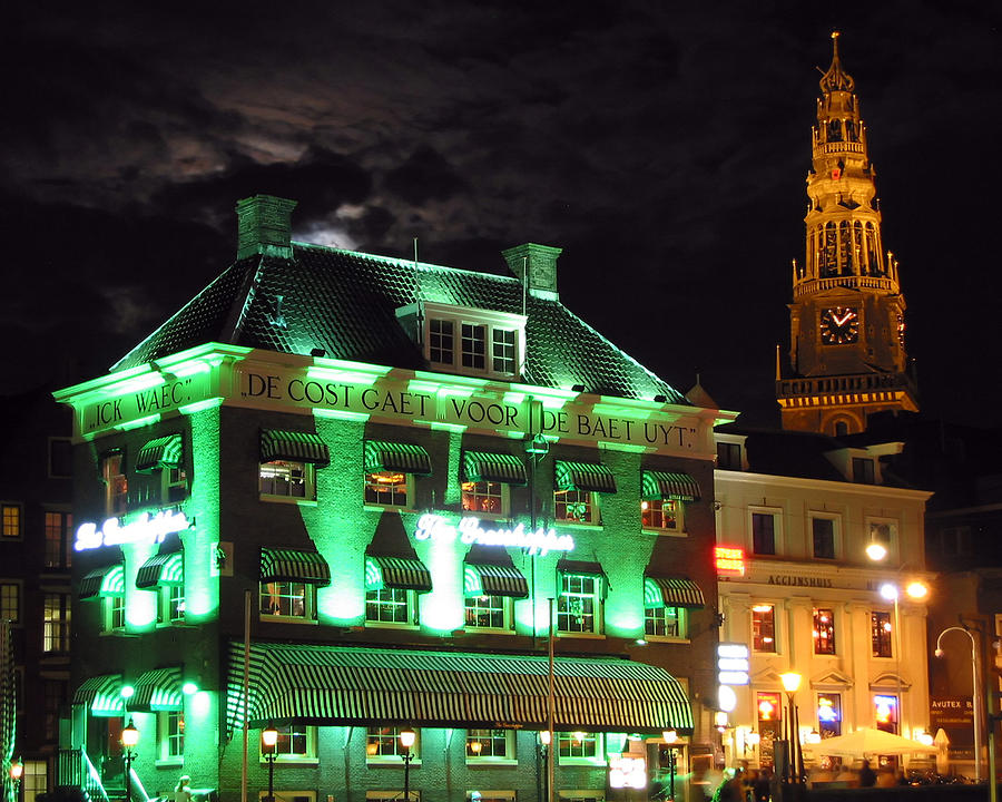 Amsterdam Photograph - Grasshopper Bar by Adam Romanowicz