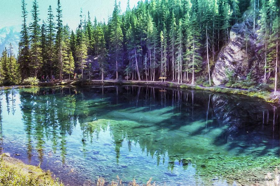 Grassi Lake Photograph