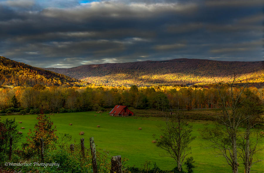 Grassy Photograph - Grassy Cove Tennessee by Paul Herrmann