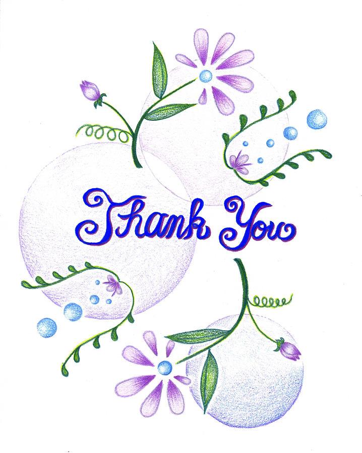 Gratitude Card Drawing - Gratitude by Keiko Katsuta