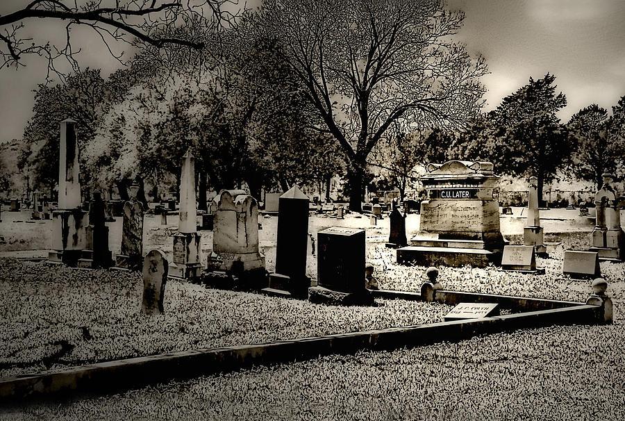Grave Photograph - Grave Consequences by Dyle   Warren