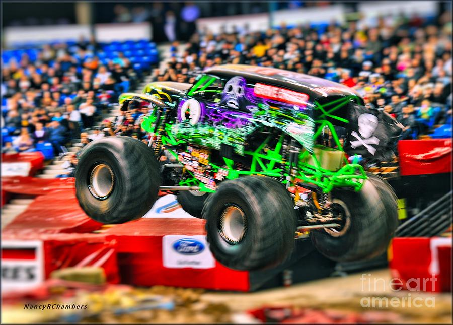 Grave Digger Photograph - Grave Digger by Nancy Chambers