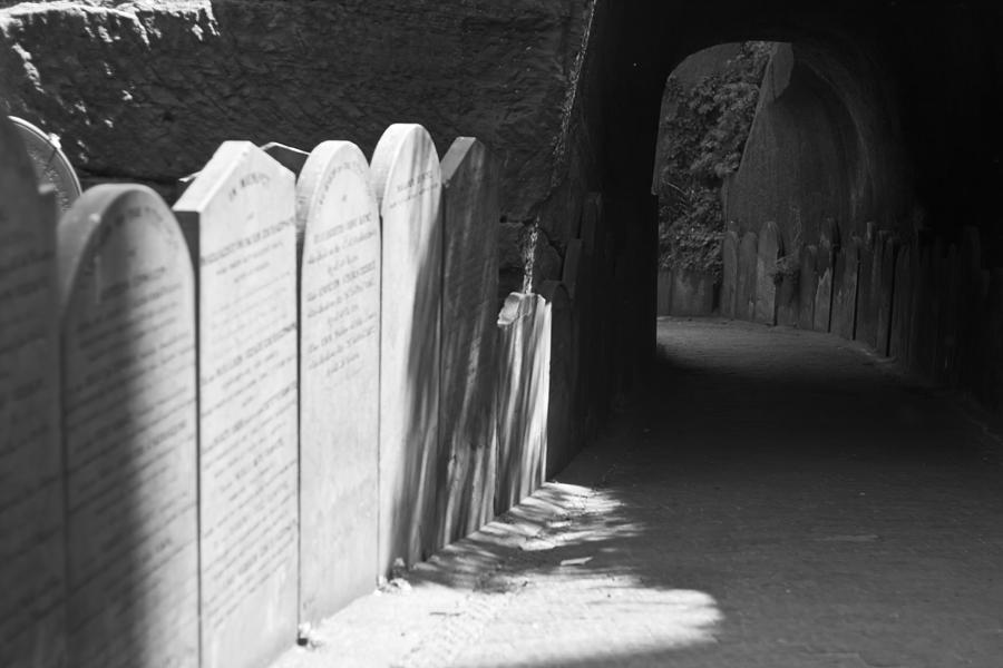Graveyard Photograph - Grave Row by Georgia Fowler