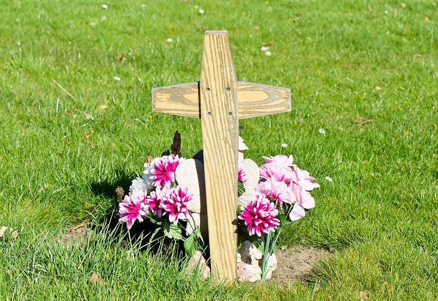 Accidemt Photograph - Grave by Tom Gowanlock