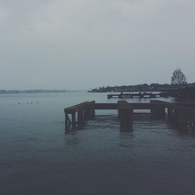 Vscocam Photograph - Gray Days by Blake Fountain
