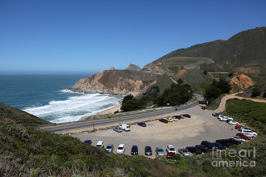 Gray Whale Cove State Beach Photograph - Gray Whale Cove State Beach Montara California 5d22616 by Wingsdomain Art and Photography