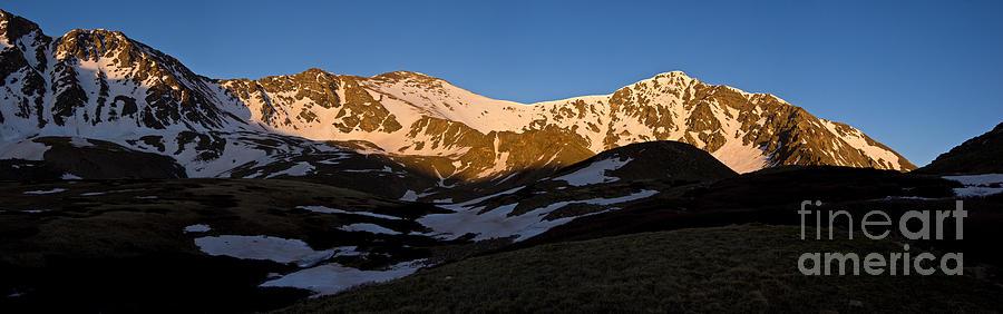 Torreys Peak Photograph - Grays Peak And Torreys Peak Panorama by Benjamin Reed