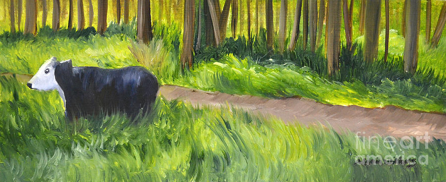 Grazing Painting by Maria Williams