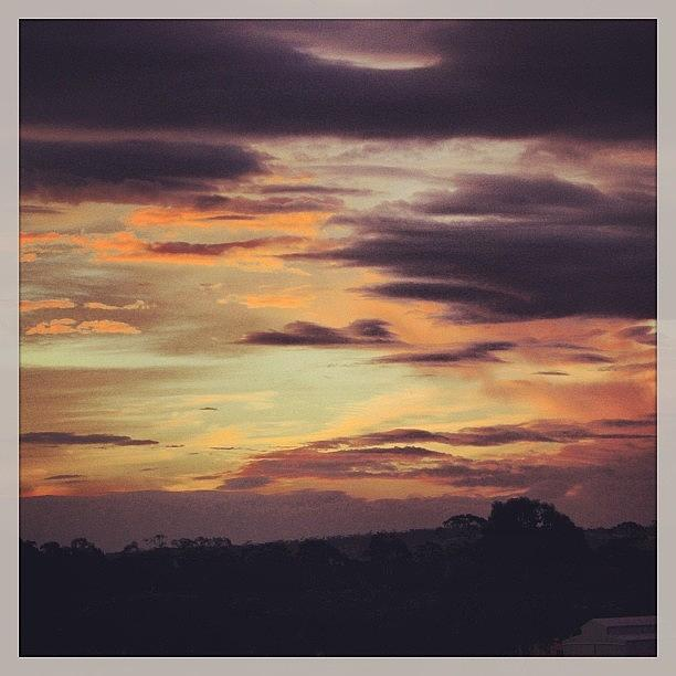 Great Photograph - #great #aussie #sunset #clouds #sky by Katie Ball
