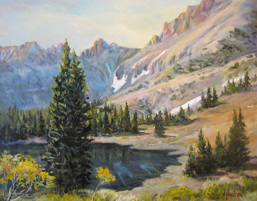 Nature Painting - Great Basin Nevada by Donna Tucker