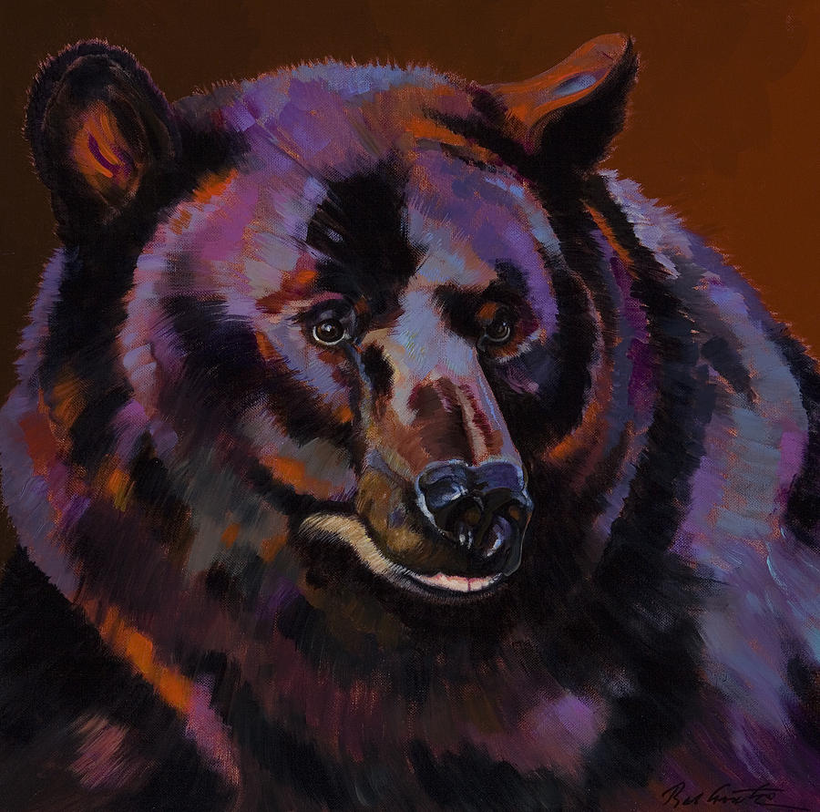 Abstract Paintings Painting - Great Bear by Bob Coonts