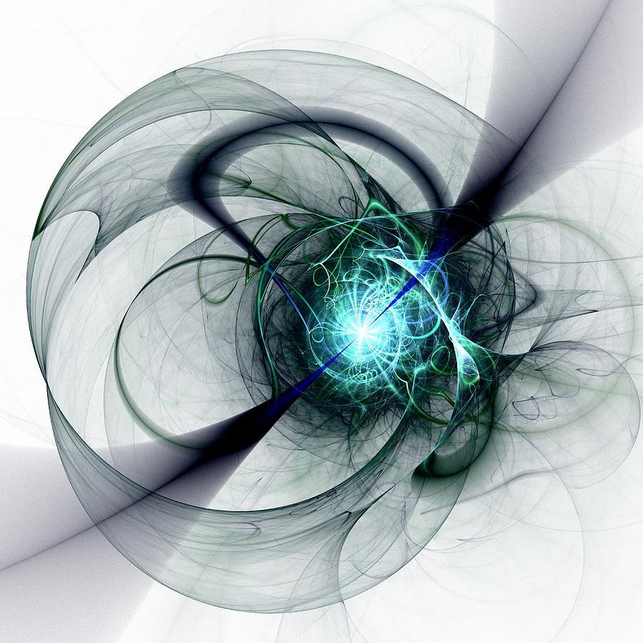 Malakhova Digital Art - Great Collapse by Anastasiya Malakhova
