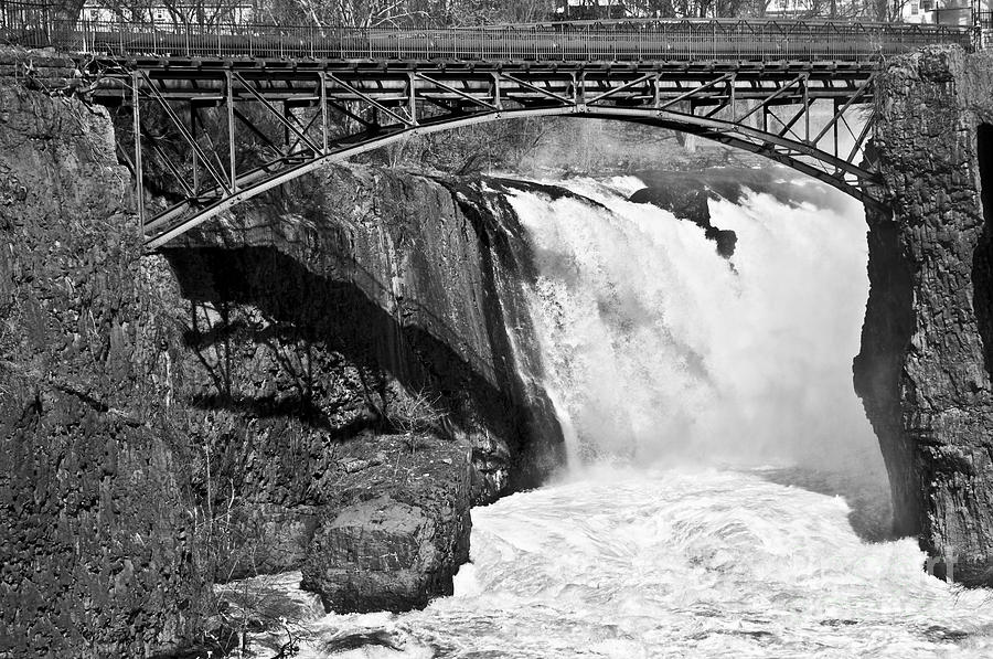 Great Falls Photograph - Great Falls In Paterson Nj by Anthony Sacco