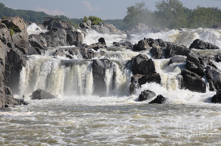 Potomac Photograph - Great Falls Of The Potomac River by William Kuta