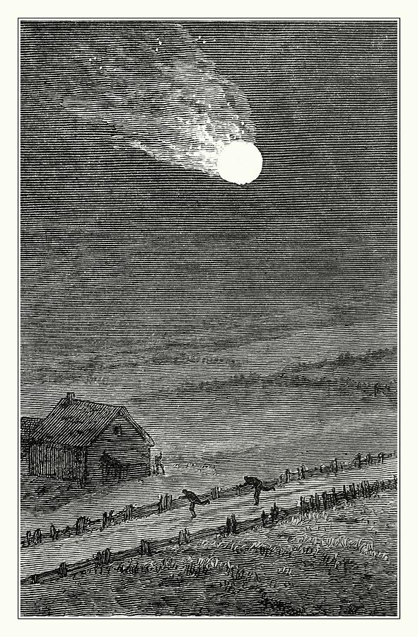 Meteor Photograph - Great Iowa Meteor by Detlev Van Ravenswaay/science Photo Library