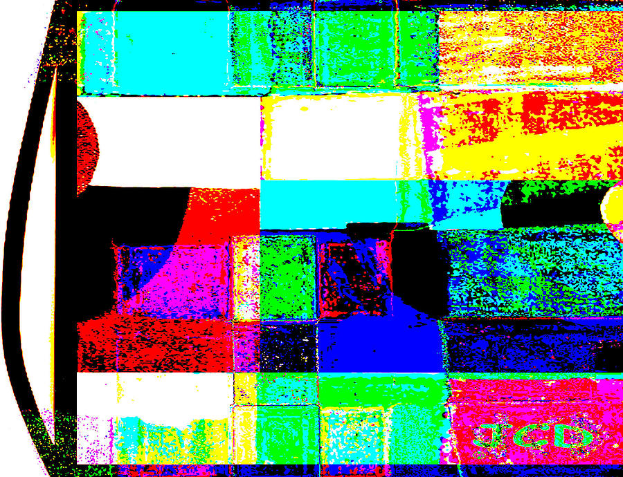 Abstract Digital Art - Great Mix by Jean-Claude Delhaise