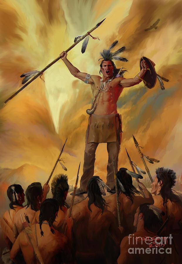 ojibwa warrior
