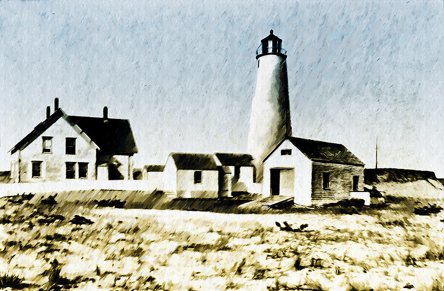 Great Photograph - Great Point Lighthouse Nantucket by Bill Cannon