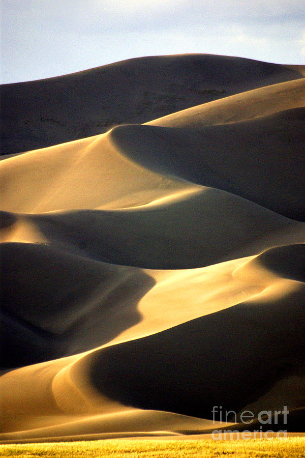 Great Sand Dunes Photograph - Great San Dunes - Sunset by Douglas Taylor