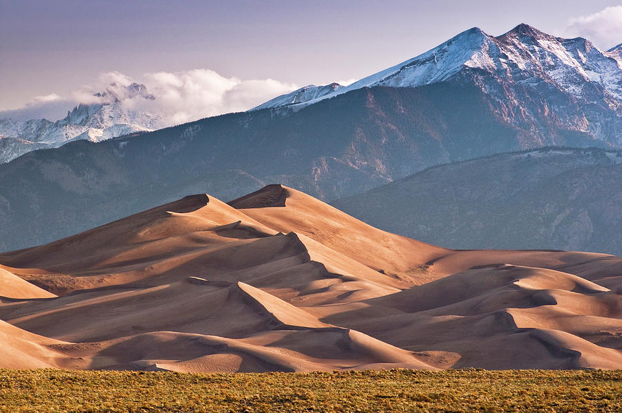 Great Sand Dunes Nat Park, Sangre De Photograph by Witold Skrypczak