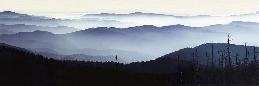 Great Smoky Mountain Vista Photograph