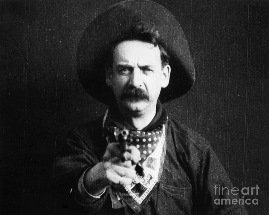 1903 Photograph - Great Train Robbery 1903 by Granger