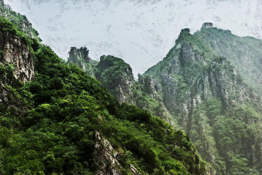 Asia Digital Art - Great Wall 0043 - Acanthus Hp by David Lange